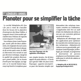 photo article courrier picard